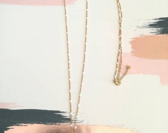Mina necklace gold