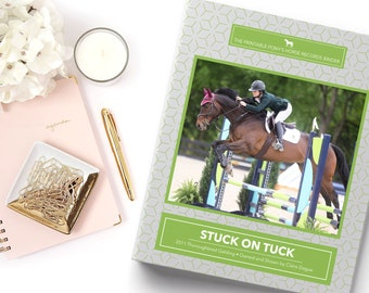 Personalized Horse 3-Ring Binder