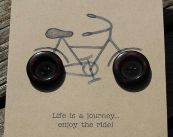 Enjoy the ride Card