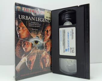 Urban legend VHS Tape