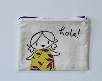 Mabel Zippered Pouch