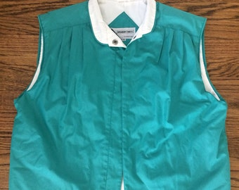 Vintage women's 1980's members only vest. Size Small