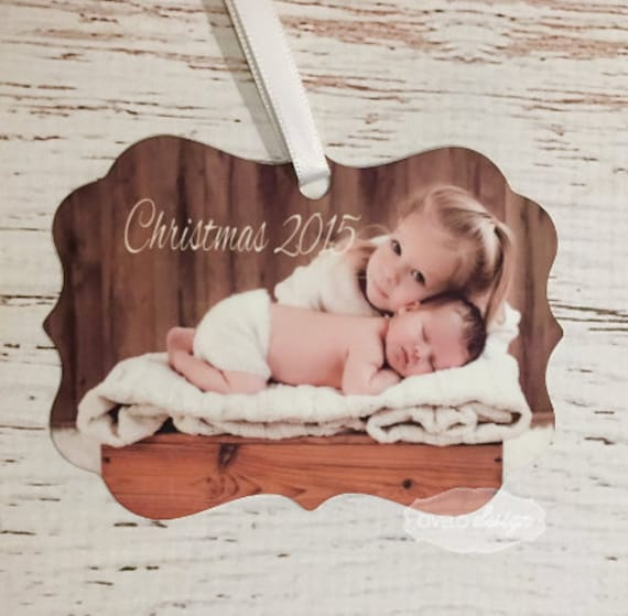 Christmas Custom Personalized Picture Ornament
