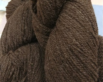 Natural Brown Cormo 400 yard 2 ply Fingering Weight Skein