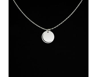 Solar Eclipse Necklace - Solar Eclipse Jewelry - Solar Eclipse Gift