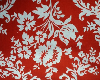 1/2 yard Lost and Found 2 Cotton by My Minds Eye for Riley Blake red floral