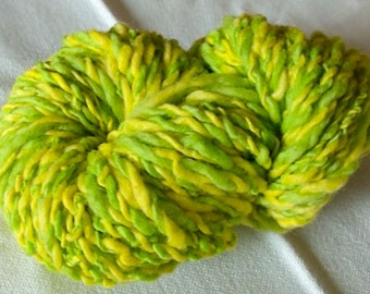 Boing Boing hand-dyed and hand-spun wool 2 ply yarn