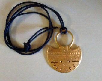 Vintage Egyptian Bib Necklace, Statement Necklace, Cleopatra, Gold Necklace, Elegant BOHO
