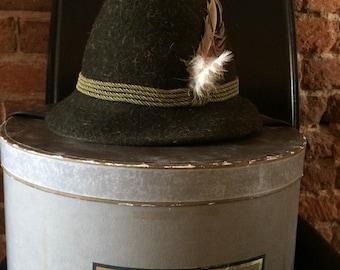 1961 Austrian Bowler's Hat