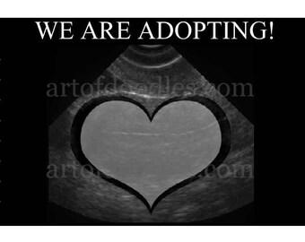 We are adopting announcements,adoption invites,announcing our adoption,adoption boy or girl