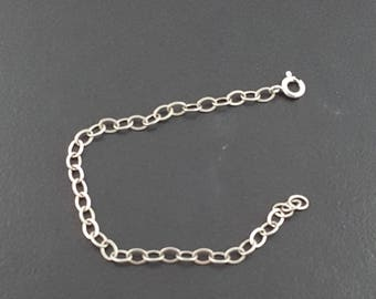 Chain Extender, sterling silver, silver chain extender, sterling chain, interchangeable chain, chain extension, chain add on, extender chain