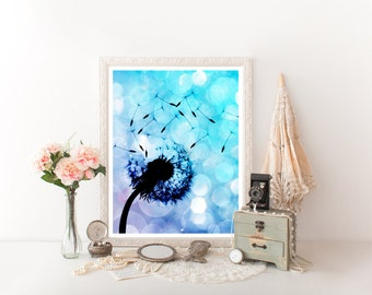 Dandelion Digital Download, Dandelion Wall Art, Dandelion Art, Dandelion Printable, Dandelion Flower, Dandelion Décor, Dandelion Print 0265
