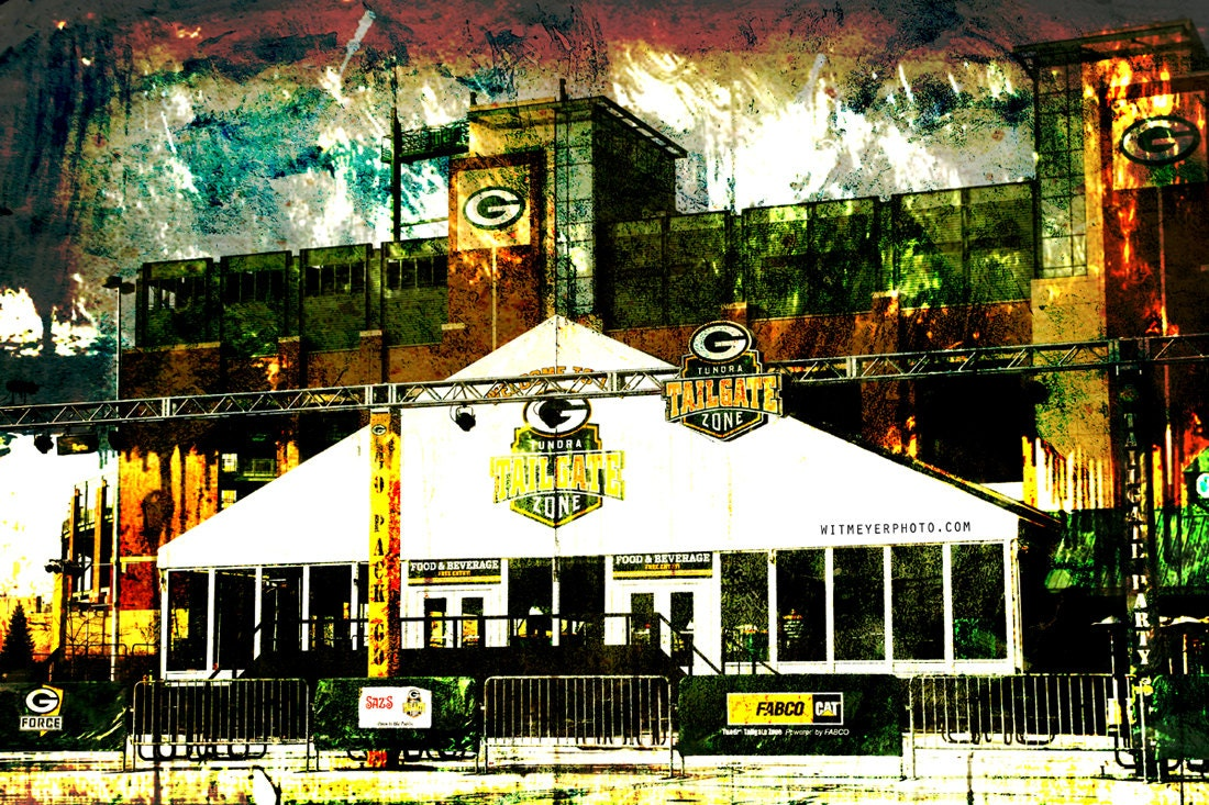 Lambeau Field Tundra Tailgate Zone Green Bay Packers Home