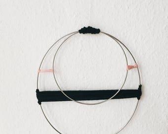 Circle Wallhanging - Heart Chakra