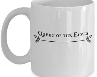 Queen of the elves coffee mug