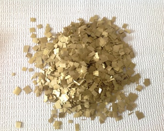 Shimmering Gold Confetti 10 cups , Biodegradable , weddings, parties, New Years ,showers, for cards, kids, adults, table decor