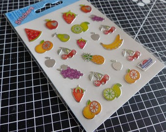 Overall decals stickers mirror - multicolored fruit Gift
