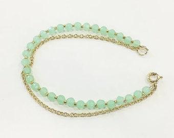 Jewel Bead Bracelet