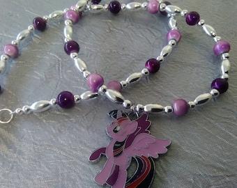 Twilight Sparkle My Little Pony Necklace