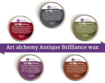 Finnabair Art Alchemy-Antique Brilliance Wax by Prima Marketing