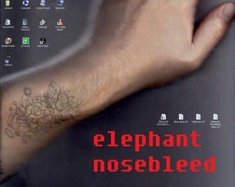Elephant Nosebleed 1/1 Handmade Zine by WolverineBurger