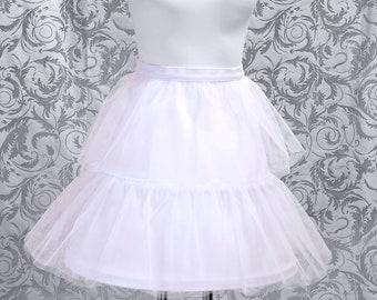 Reifrock kurz, Krinoline, Mini-Krinoline, Petticoat, Lolita - individuelle Farbwahl