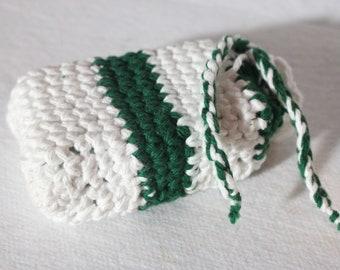 The Boston Cotton Crochet Soap Saver