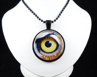 Owl's Eye Photo Pendant