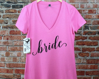 Bride Shirt. Bridal Shower Gift. Bride T-Shirt. Bride Tee. Wifey Shirt. Bride To Be. Mrs Shirt. Mrs Tee. Gift For Wife. Bachelorette Party