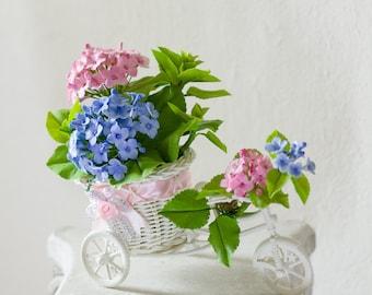 Hydrangeas- Air Dry Clay Flowers