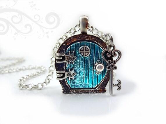 Like this item?  sc 1 st  Etsy & Fairy Door Locket Necklace Alice in Wonderland Door Charm