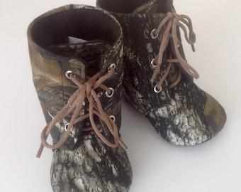 Camo Baby Boots | Newborn size up to 4T | FREE Shipping in the US