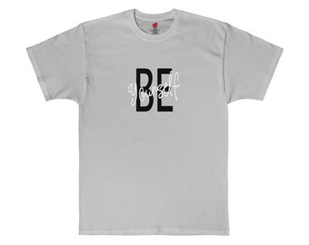 Be Yourself Graphic Tee Short Sleeve T-Shirt