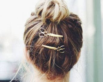 2 Hair clip Cisors very original ! for hairstyle lovers
