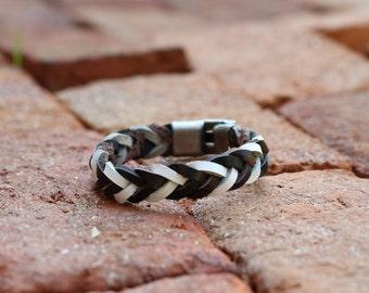 Unisex Braided Leather Bracelet Birthday Gift under 15 Gift for him Gift for her Father's Day Gift for Dad