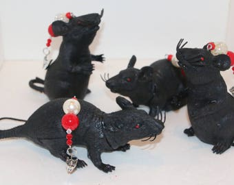 Rat Tablecloth Weights Set of 4