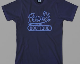 Paul's Boutique T Shirt - beastie boys, pauls, mike d, rap, hip hop, 80s, license to ill - Graphic Tee, All Sizes & Colors