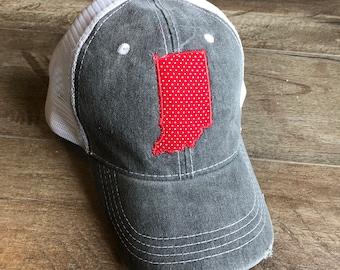 Indiana Applique Hat