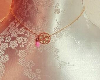 The Choker necklace, mandala