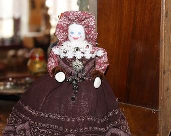 Handmade little doll Gift doll Art doll Intrior detail