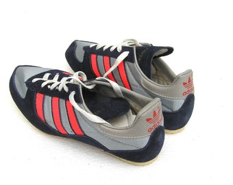 Vintage Adidas sneakers UNUSED Vintage kids Adidas running shoes with nails Soviet Adidas sneakers Russian Adidas sport shoes