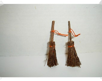 Miniature Brooms/ Set of 2/ Minis/ Craft Supplies**