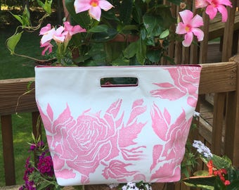 Summer White Foldover Tote by StephanieBee