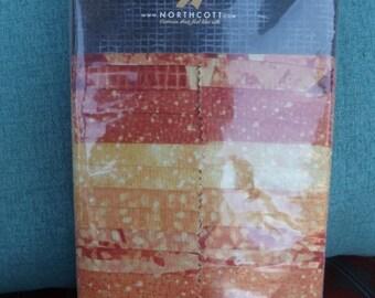 Northcott Artisian Spirit Tahitian Sun Ambience Strips Jelly  Roll