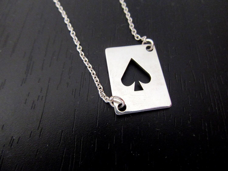 Poker bracelet queen of spades bracelet dom bracelet ace zoom biocorpaavc Choice Image