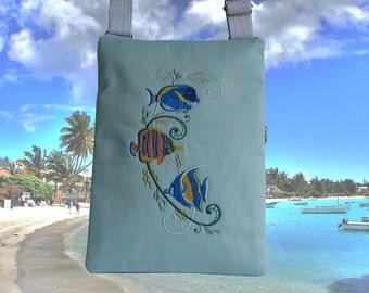 Tropical Fish Purse