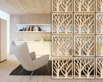 Hanging room divider | Etsy