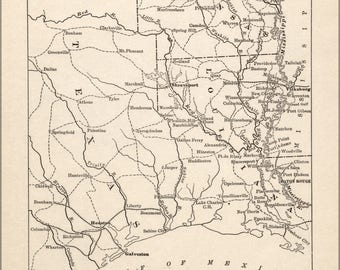 Poster, Many Sizes Available; Map Of Civil War In Louisiana S. Arkansas & E. Texas