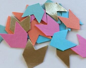 150pc Tribal Confetti - Arrow Confetti - Table Scatter - Wedding Confetti - Baby Shower Confetti