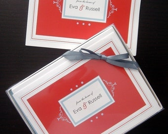 Classic Grace Folded Note Cards - Set of 25
